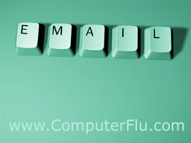 Computer Flu email account setup